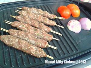 طريقة عمل كفتة اللحم المشوية