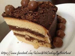 طريقة عمل الكيكة الأسفنجية و تزيينها بالصور