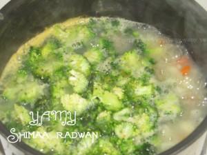 طريقة عمل شوربة الخضروات مع الدجاج