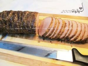 طريقة عمل اللحمه الباردة