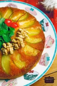 طريقة عمل كيكة التفاح