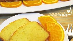 طريقة عمل كيكة البرتقال بالصور :