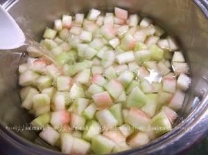طريقة عمل مربي قشر البطيخ