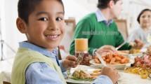 وجبات صحية للأطفال قبل النوم