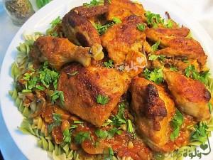 طريقة عمل دجاج كاشتوري أيطالي