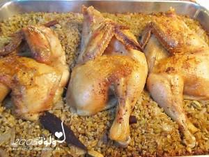 طريقة عمل فريكة الدجاج