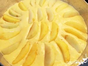 طريقة عمل كيك التفاح بالصور :