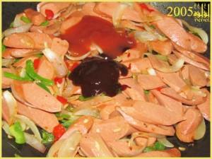 طريقة عمل ساندويتشات النقانق