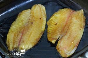 طريقة عمل سمك مشوي بالصويا صوص بالصور