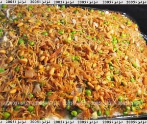 طريقة عمل صينية أرز بالخضروات
