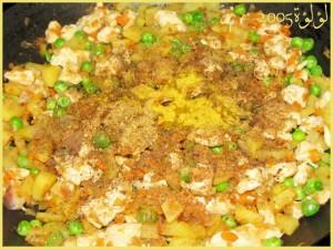 طريقة عمل ساندويتش الخضروات و الدجاج