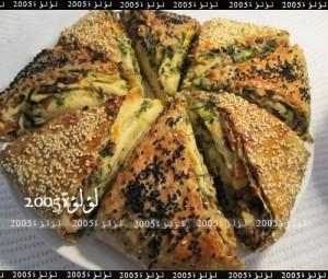 طريقة عمل خبز تركي طبقات بالصور