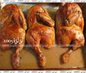 طريقة عمل دجاج مشوي بخل البلسميك