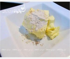 طريقة عمل خبز محشي بالجبن بالصور :