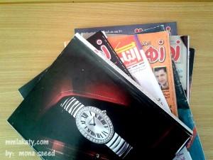 طريقة للتخلص من فوضي المجلات القديمة بالصور