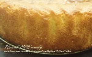 الكيكه الاسفنجيه الناجحه بالصور