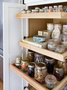 أفكار لتنظيم المطبخ و توفير المساحة التخزينية