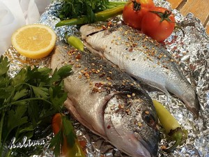 طريقة عمل سمكة حارة مشوية