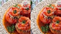 طريقة عمل محشي الطماطم