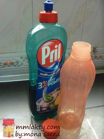 أسهل طريقة لغسل الزجاجات من الداخل بالصور