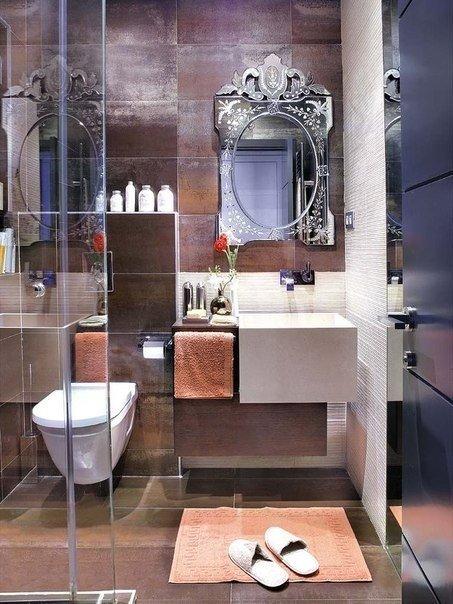 ديكور حمام صغير مودرن 2016