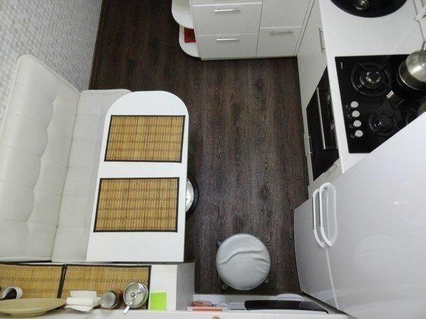 صور مطبخ صغير مع طاولة طعام