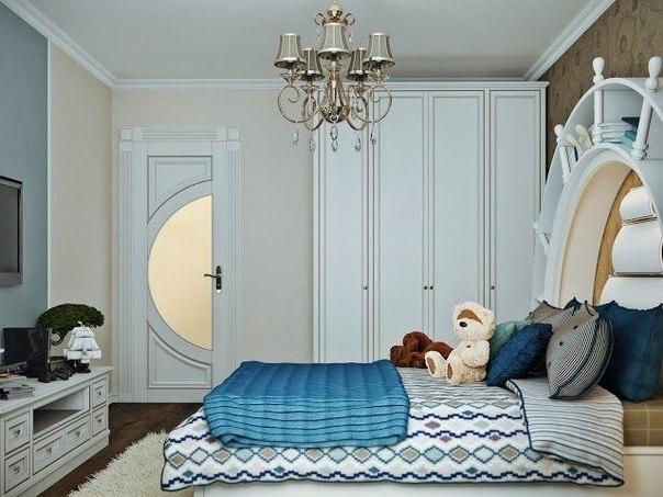 صور ديكورغرفة نوم للشباب بتصميم البحارة