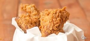 طريقة عمل دجاج كنتاكي المقرمش بالبيت :