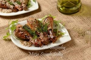 طريقة عمل دبابيس الدجاج بالتتبيله اليونانية