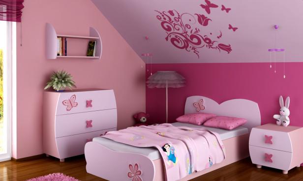 بالصور ديكورات غرف نوم للبنات بيتى مملكتى