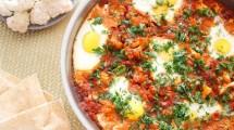 طريقة عمل شكشوكة البيض بالقرنبيط