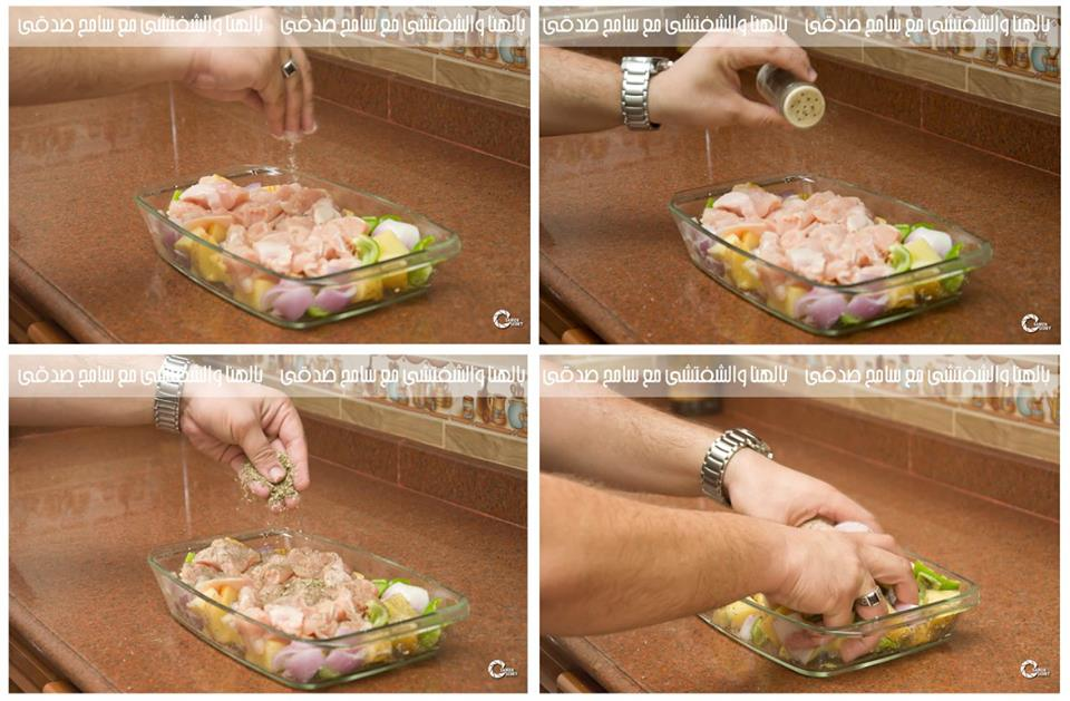 صدور دجاج مشوية