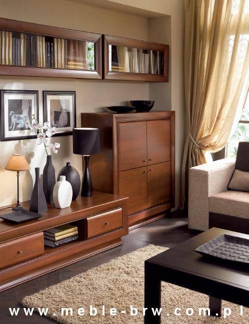 بالصور أفكار مكتبات خشبية لغرفة المعيشة
