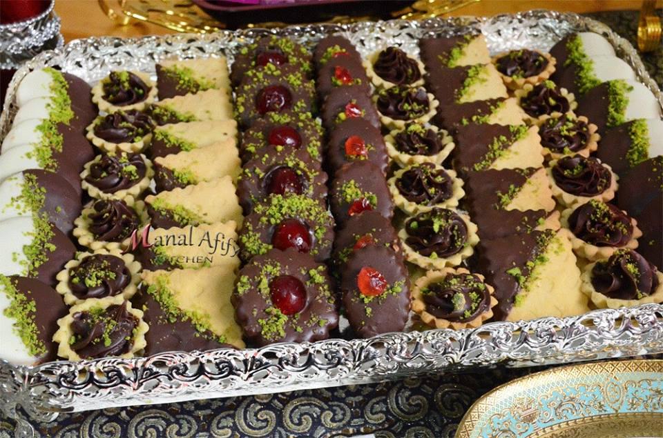 صور ضيافة عيد الفطر من منال عفيفي ..