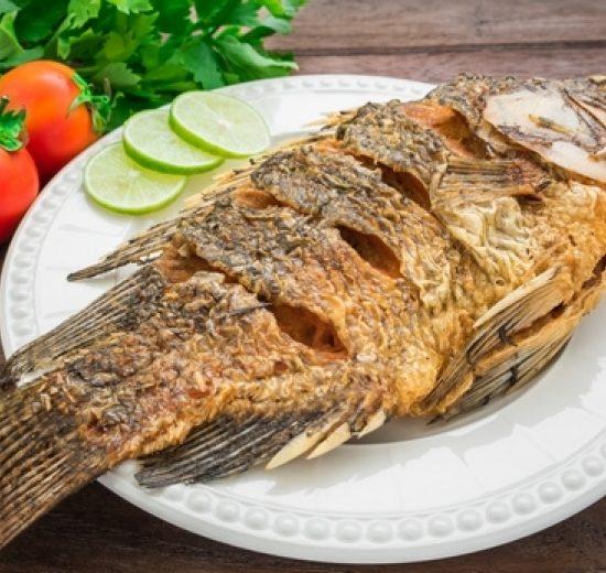 كيف أحصل علي سمك مقلي مقرمش