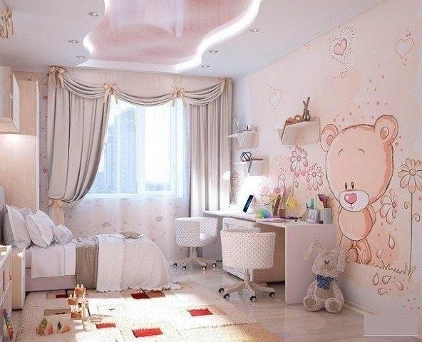 صور ديكور غرف نوم بنات