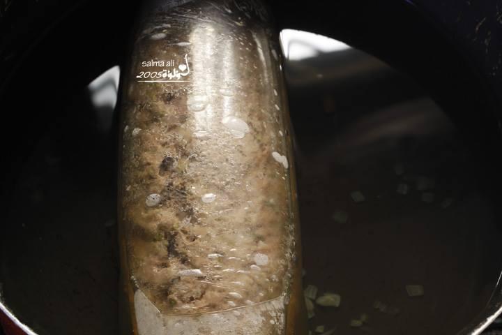 روستو اللحم المفروم بالبيض