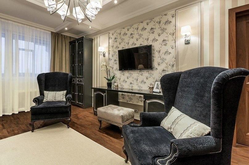 ديكور غرفة معيشة كلاسيك بالصور