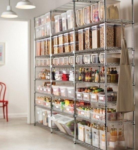 بالصور أفكار لدولاب الخزين بالمطبخ