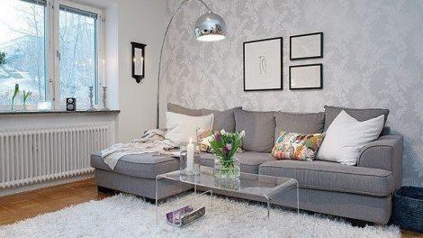 بالصور ديكور شقة باللون الأبيض