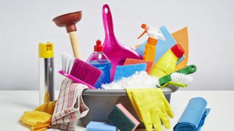 البرنامج الصباحي لتنظيف البيت