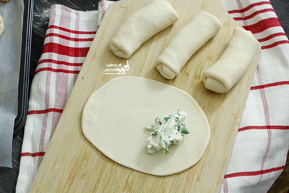 فطائر تركية بحشوة الجبن