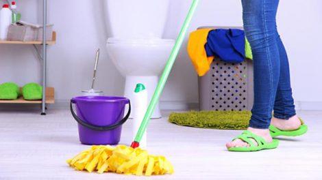نصائح لتنظيف الحمام بوقت قياسي