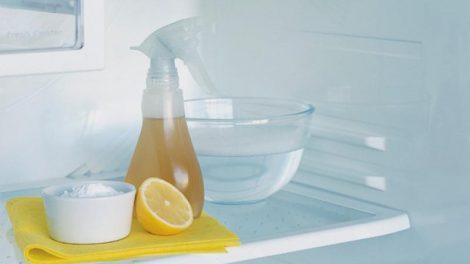 كيف أنظف الثلاجة بدون ماء و صابون ؟
