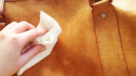 الحفاظ علي الحقيبة الجلد من التشقق