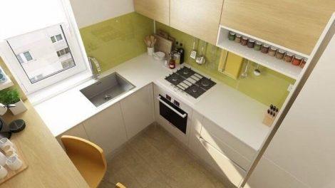 صور مطبخ صغير قليل التكلفة