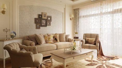 صور غرفة معيشة كلاسيكية