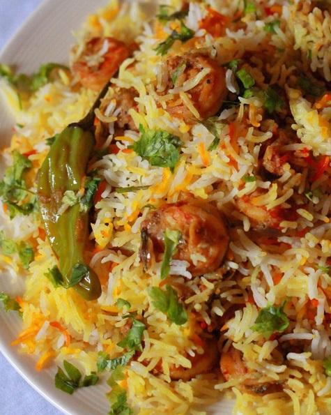 طريقة عمل برياني ربيان هندي بالطريقة الأصلية مثل المطاعم -