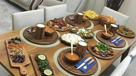صور ترتيب و تزيين الطعام على السفرة