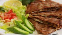 فطائر اللحم المفروم و جبن الموتزاريلا